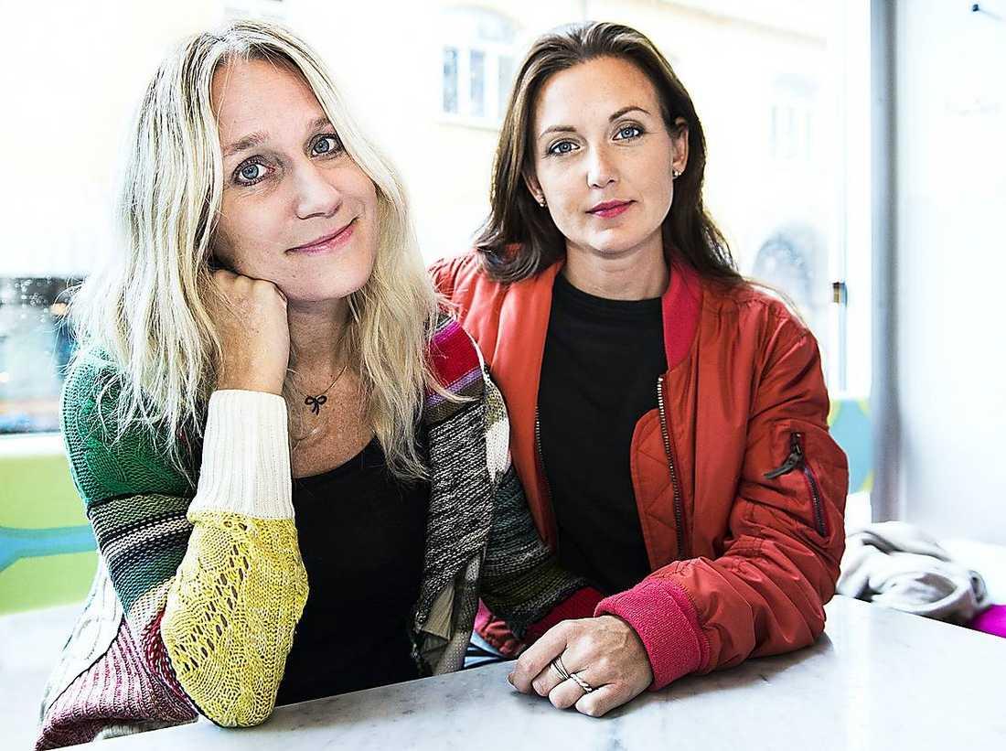 """Ann Söderlunds och Sanna Lundells tv-program """"Djävulsdansen"""" har premiär i kväll. Här nedan berättar Ann Söderlund sin historia som medberoende och hur Sanna Lundell hjälpte henne."""