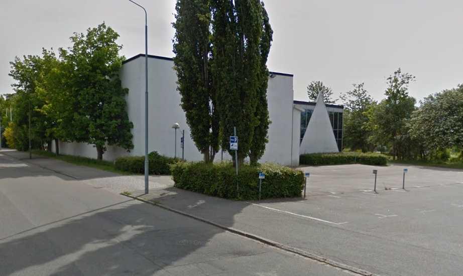 Krossverksgatan i Limhamn skulle bli platsen för jättesatsningen som nu dömts ut som olaglig.