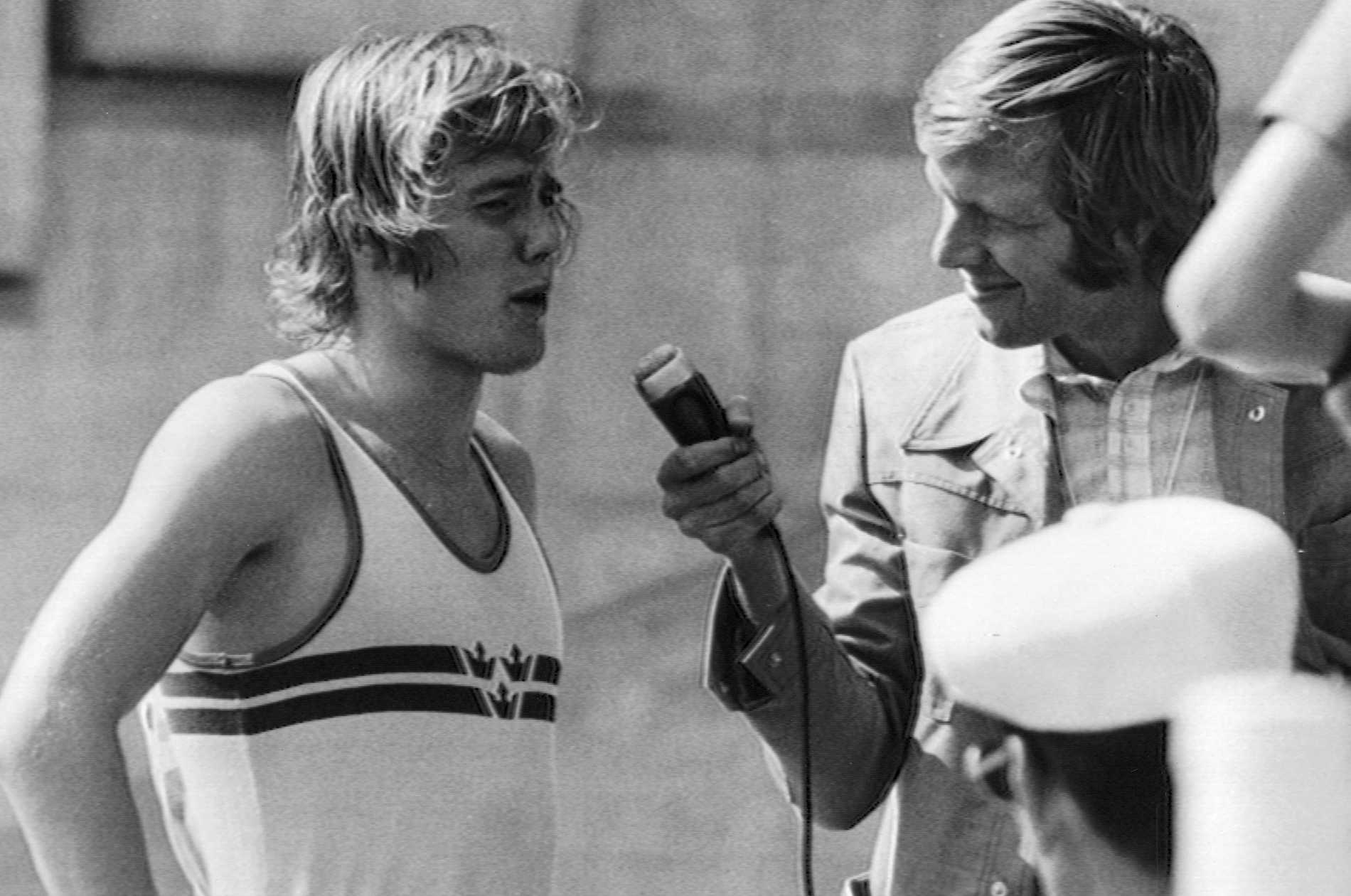 Il sollevatore di colonne Kjell Isaacson è stato intervistato da Tommy Engstrand nel 1972.