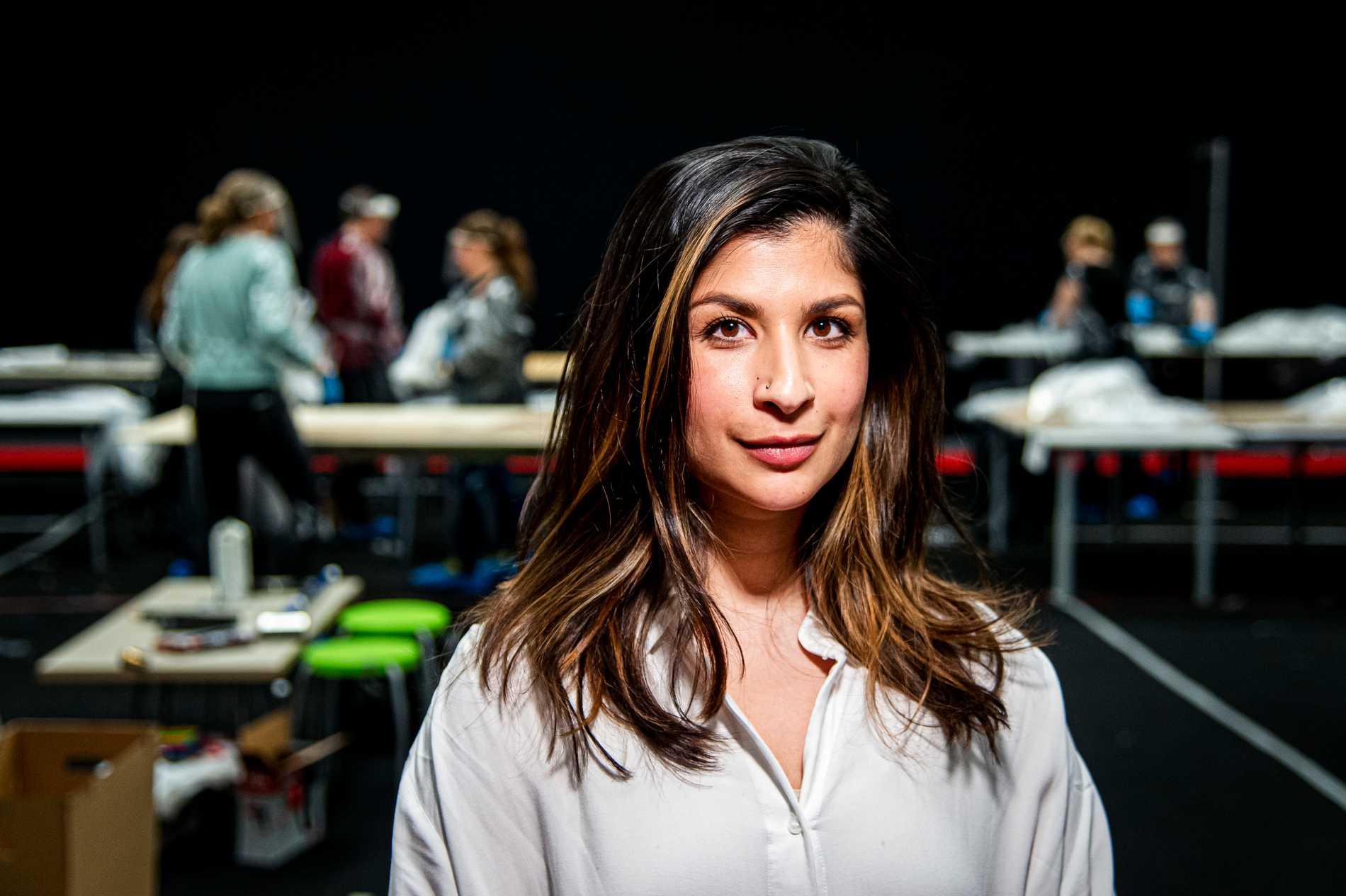 Soraya Hashim, talesperson för Förklädesfabriken.