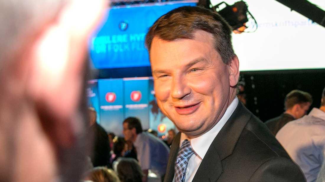 Tor Mikkel Wara. Arkivbild från stortingsvalet 2013.