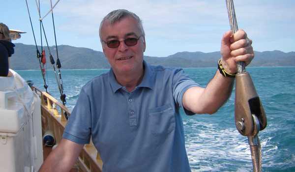 Michael Pannagel, äger resebyrån Singelresor.