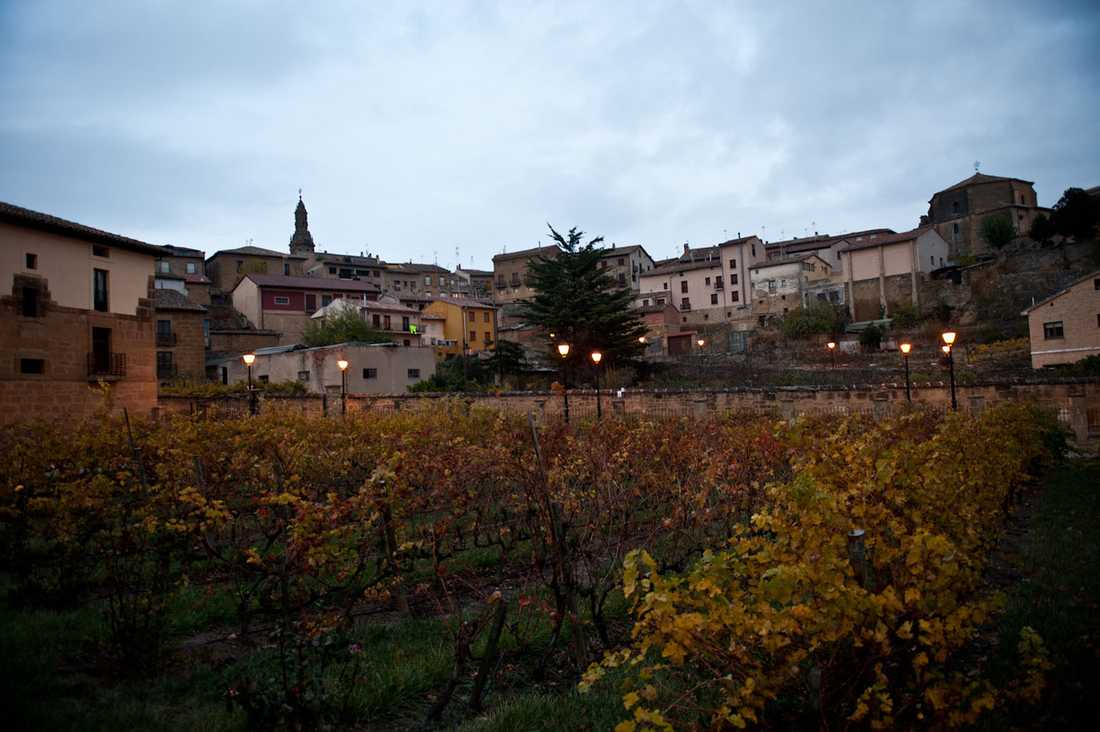 I Rioja är vinet och tapasen goda.