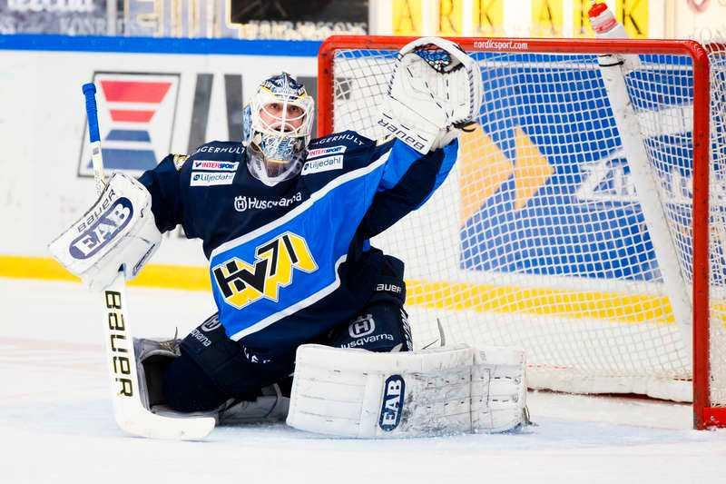 Fredrik Pettersson-Wentzel såg till att HV 71 höll undan mot Malmö.
