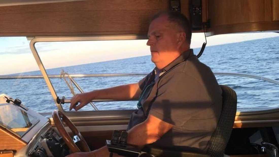 Kristan Isbak, 56, blev vittne när ubåten sjönk.