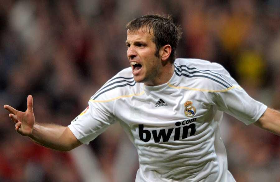 Van der Vaart i Real Madrid.