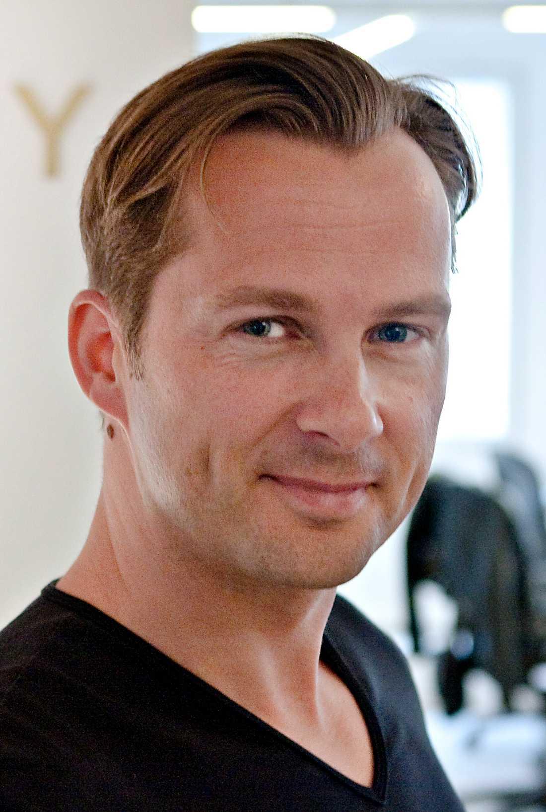 Niclas Lövkvist, vd för pr-byrån Agency.
