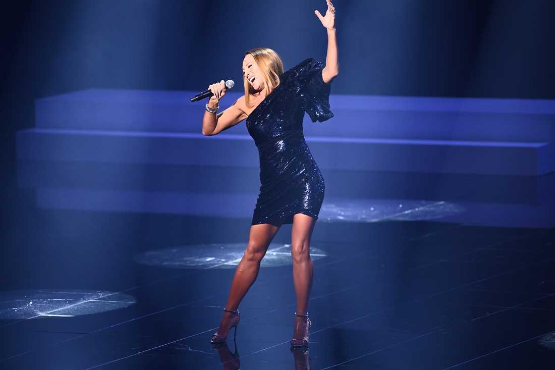 Charlotte Perrelli repar inför Melodifestivalen 2021