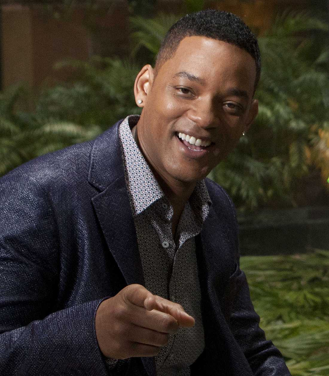 "Will Smith under promotionturnén för nya ""After earth""."