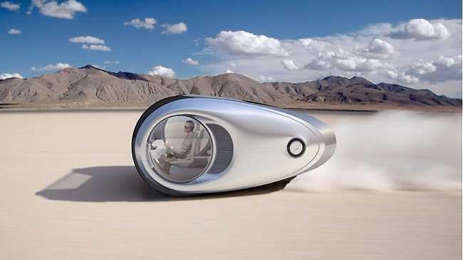 Ecco har en toppfart på 145 km/tim och kan köras i 24 timmar på en laddning.