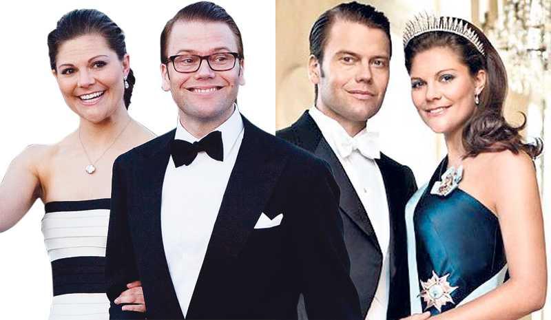 Ofixad vänster – fixad höger Daniel och Victoria skulle passa perfekt i en tjusig Bond-film. Genom att lägga skärpa på ögon, näsa och läppar, och låta resten av hyn vara oskarp, skapas en riktig filmstjärnelook.