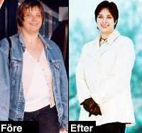 Gick ner 24 kilo. Innan Gunilla Blom började träna vägde hon 105 kilo. I dag stannar vågen på 81 kilo. Sammanlagt har hon tappat 24 kilo och hon känner att kroppen blivit fastare.