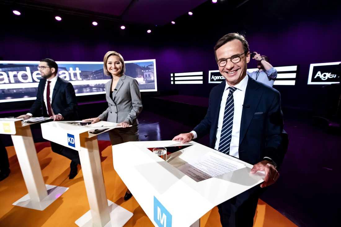 Om Moderaternas Ulf Kristersson samarbetar med Jimmie Åkesson (SD) och Ebba Busch (KD) kan Sverige se en liknande utveckling som i USA där partierna tappar inflytande över sina kandidater, menar Roland Poirier Martinsson.