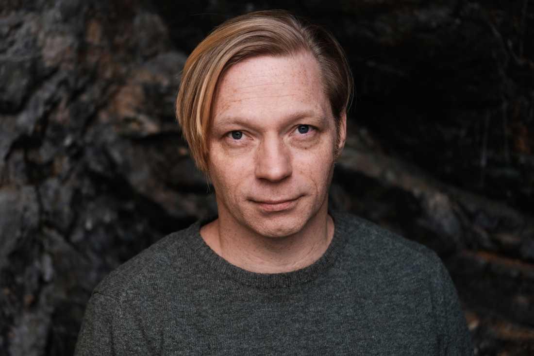 """Daniel Gustafsson, född 1972, debuterar med romanen """"Odenplan""""."""