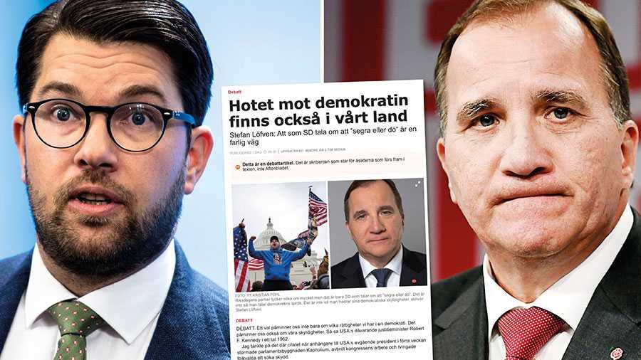 Jag hoppas innerligt att statsministern förmår att reflektera över sitt eget ansvar till ökad polarisering. Alla dessa människor vars enda brott är att tycka fel förtjänar en oförblommad ursäkt för allt det de tvingas utstå, skriver Jimmie Åkesson.