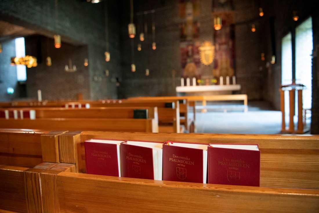 Kyrkorna runt om i landet får fira en digital påsk. Arkivbild.