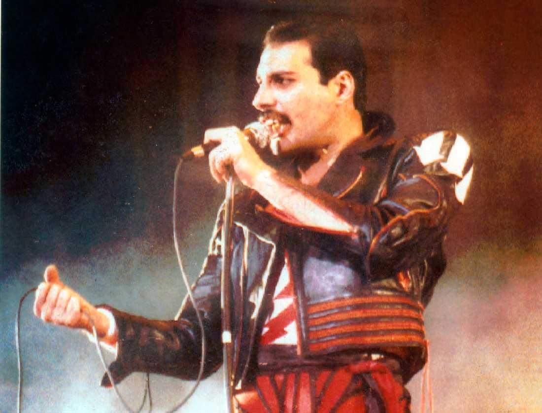Freddie Mercury 1985.