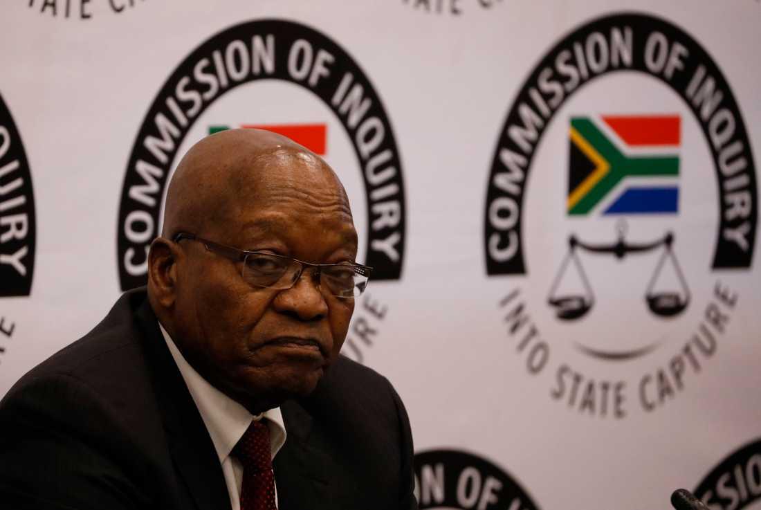 Rättegången mot Sydafrikas tidigare president Jacob Zuma väntas inledas nästa vecka. Arkivbild.