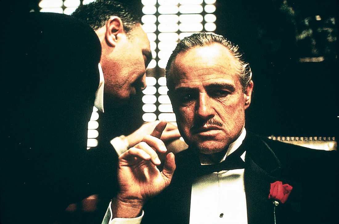 Marlon Brando som maffiaboss.