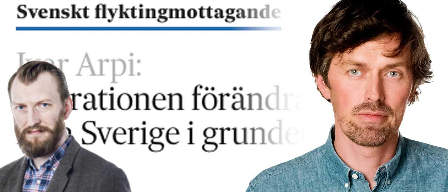 Martin Aagård om Ivar Arpi