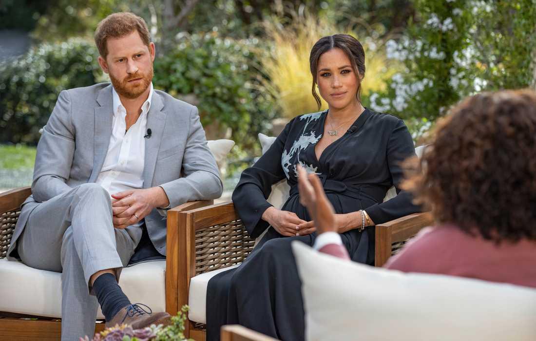 Harry och Meghan hos Oprah.