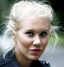 """Isabella """"Blondinbella"""" Löwengrip."""