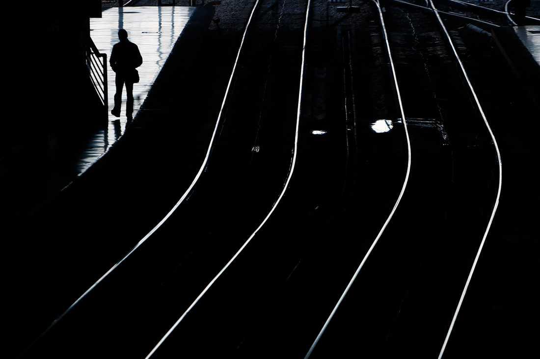 Trafikverket har inlett en satsning för att uppmärksamma suicid i transportsystemet, exempelvis järnväg. Arkivbild.