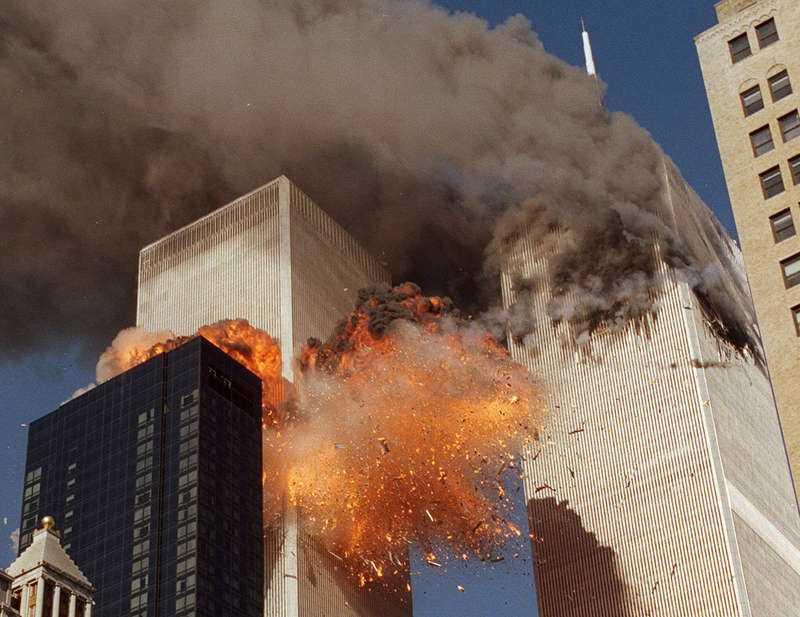 11 september-attacken 2001.