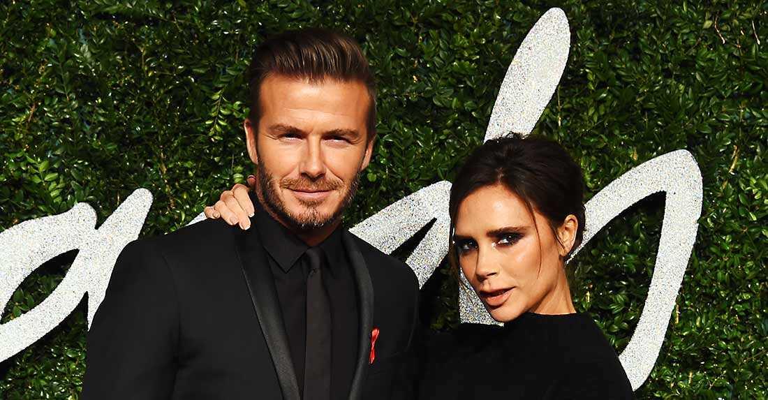 David Beckham är allt som oftast lite skäggig.