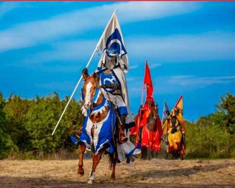 Riddare ska patrullera på Gotland.