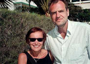 Thomas Hemmingberg och Ingela Nilsson.