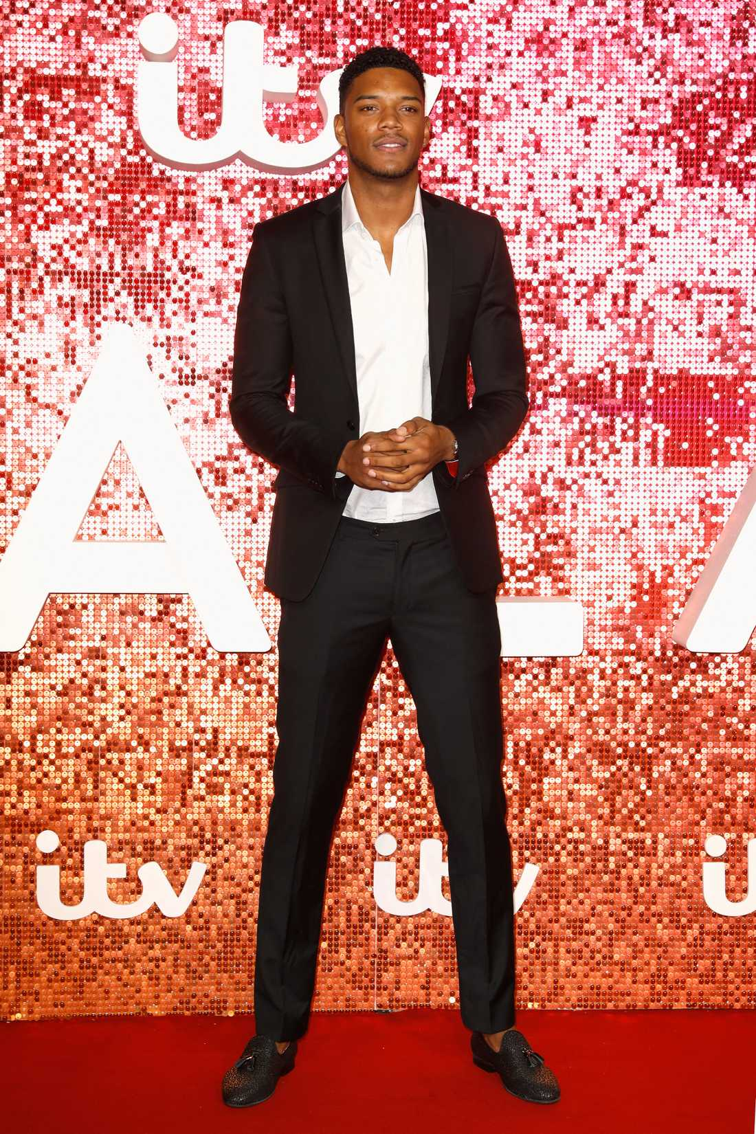 Theo Campbell under ITV:s gala 2017