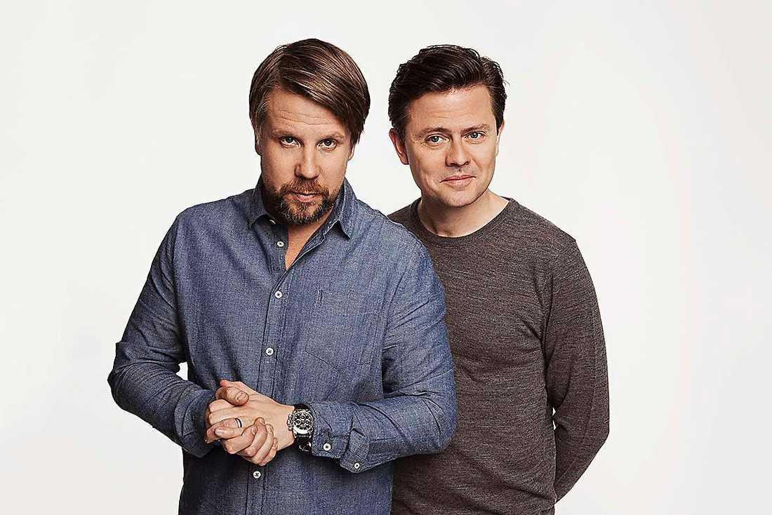 """Filip Hammars och Fredrik Wikingssons program """"Ska vi göra slut?"""" hade premiär på måndagen."""