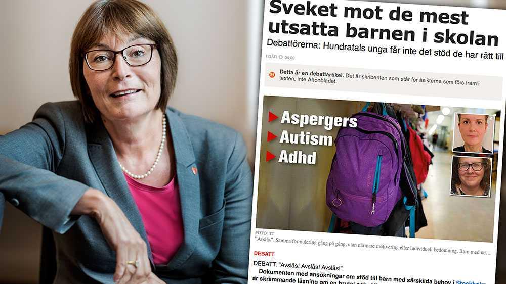 Utbildningsförvaltningen ska under våren utreda behovet av en ny modell för ersättningssystemet. Det pågår statliga utredningar som har i uppdrag att belysa likvärdighet och resursfördelning, skriver  Lena Holmdahl och Helene Moquist, Stockholms stad.