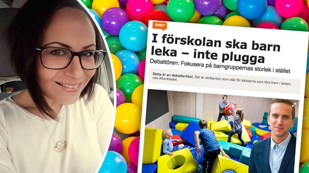 Undervisning blir lek och lek blir undervisning. Barnens lek och lärande blir på så vis en bro över till förskoleklass och skolans värld, skriver Ann-Sofie Sigvardsson, förskollärare, i en replik om förskolebarns lärande.