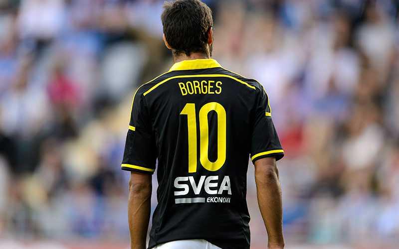 Celso Borges under matchen.