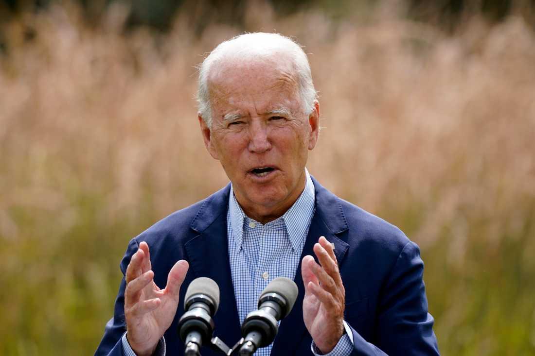 Valet av Joe Biden till USA:s näste president är en av faktorerna som påverkar möjligheterna att nå Parisavtalets mål, enligt Climate Action Tracker. Arkivbild.