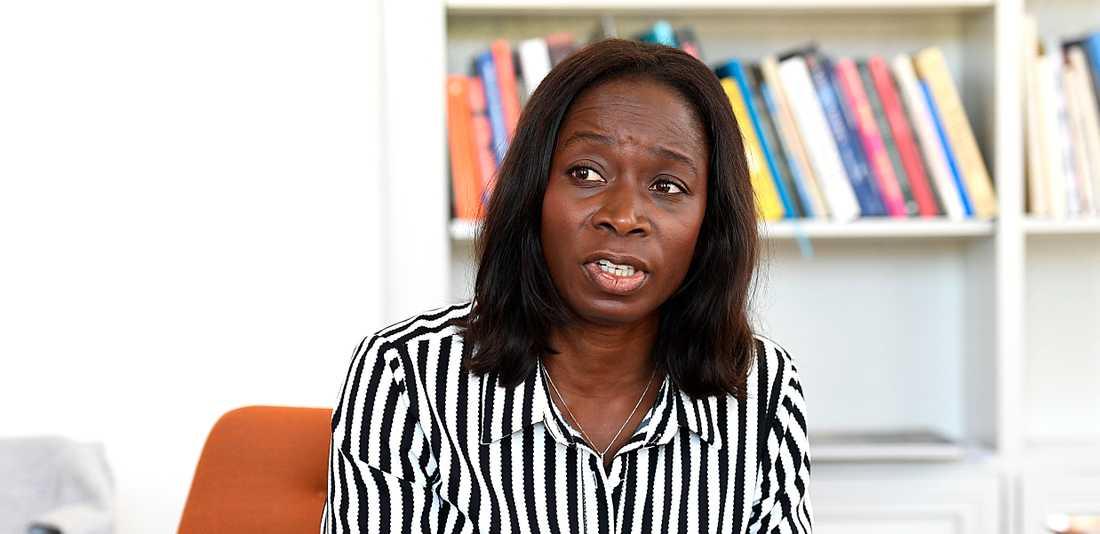 Liberalernas ledare Nyamko Sabuni.
