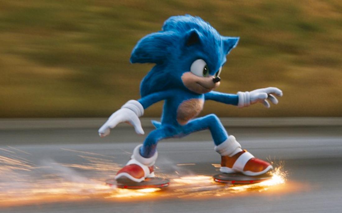 Full fart på Sonic.