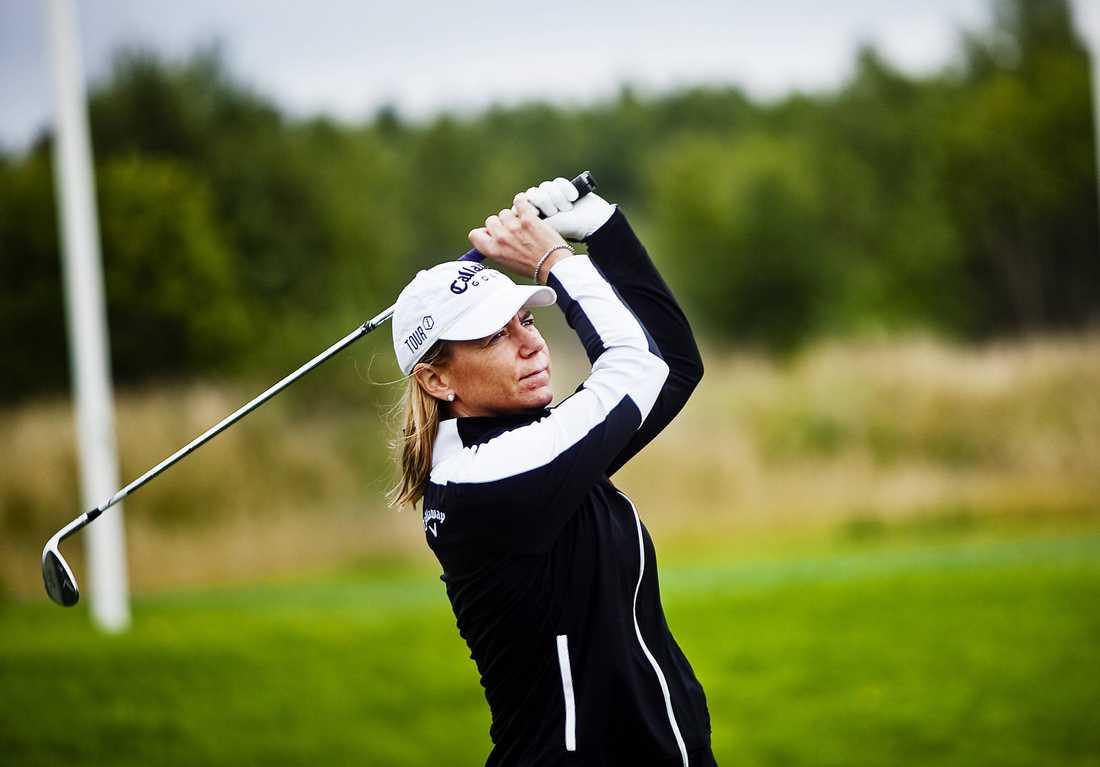 Annika Sörenstam, golfspelare.