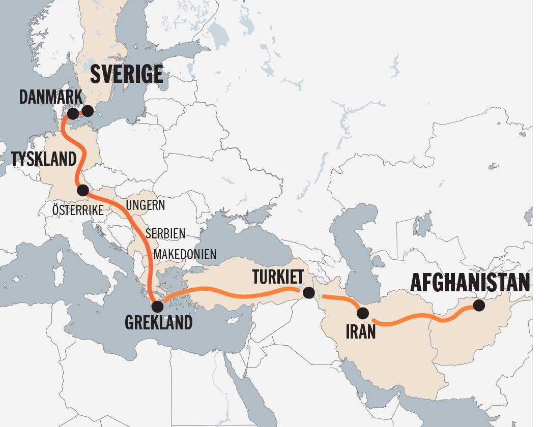 Fahims flykt från Afghanistan till Sverige