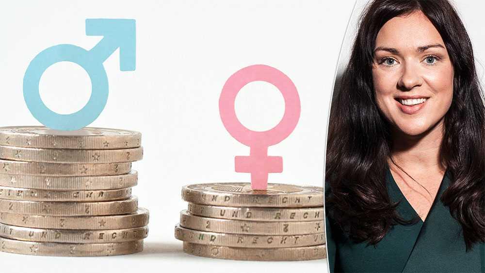 Sektorer och yrken där kvinnor är i majoritet värderas lägre, skriver Veronica Magnusson, förbundsordförande Vision.