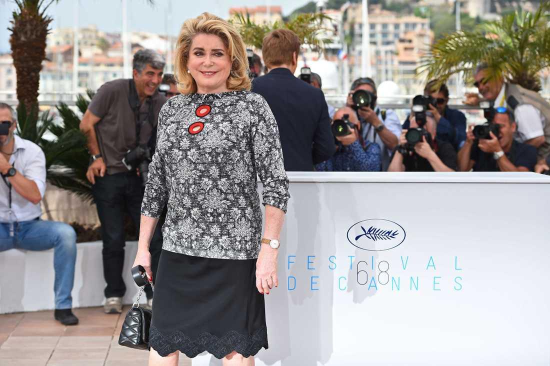 Franska skådespelaren Catherine Deneuve