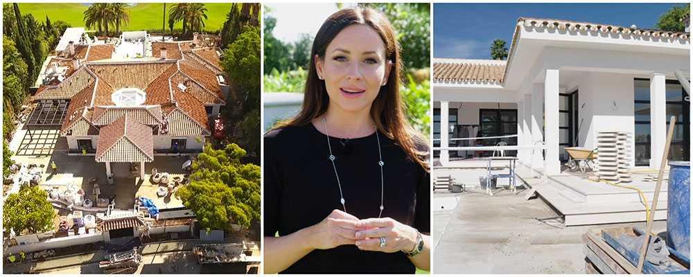 """Camilla Enström guidar tittarna genom den snåriga spanska bostadsdjungeln i tv-serien """"Drömmen om Spanien""""."""