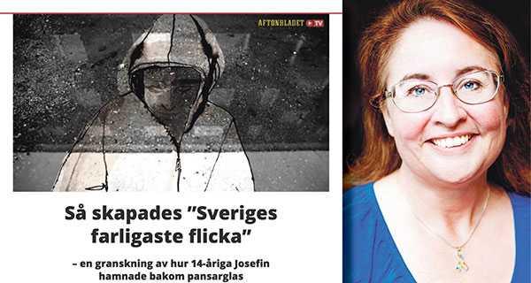 Anne Lönnermark, ordförande i Autism- och Aspergerförbundet, menar att samhället inte tagit hänsyn till Josefins autism och att hanteringen visar stora brister.