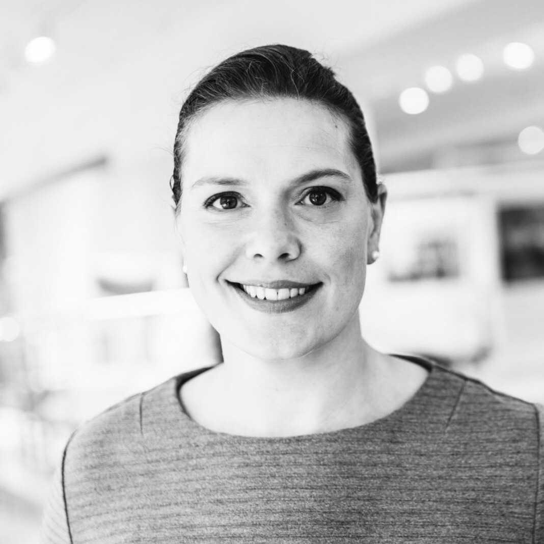 Christina Ljosåk, kårordförande Roslags Näsby scoutkår.