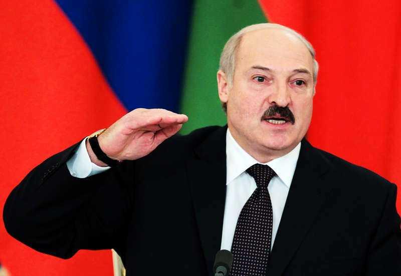 Vitrysslands president Aleksander Lukasjenko.