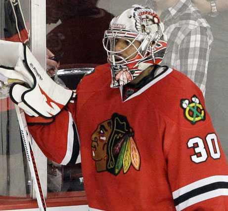 Ray Emery, 30 år, målvakt, Chicago Blackhawks Nio säsonger i NHL.