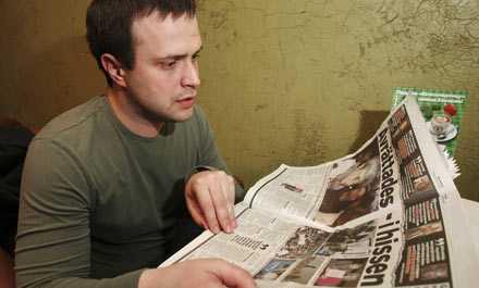 – Det känns som alldeles nyligen, inte ett halvår, Ilja Politkovskij, Anna Politkovskajas son om mordet.