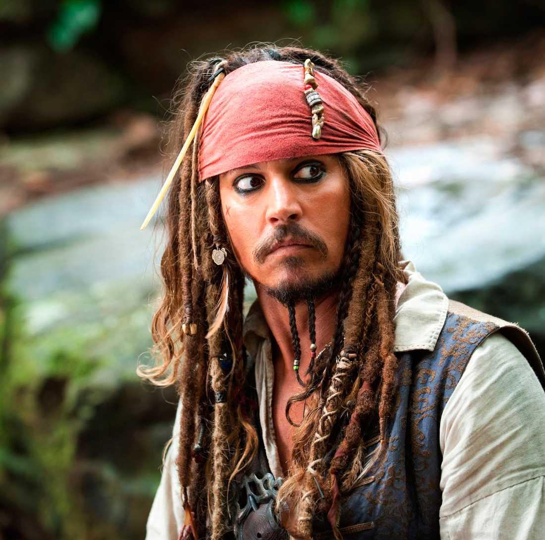 Kapten Jack Sparrow.